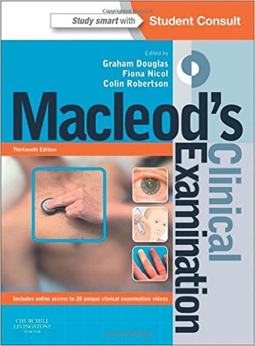 Macleod's Clinical Examination: With STUDENT CONSULT Online Access, 13th edition