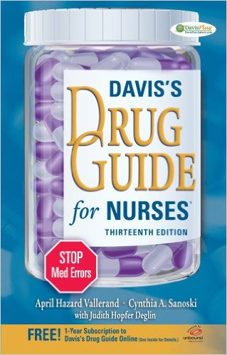 Davis's Drug Guide for Nurses 13th Edition