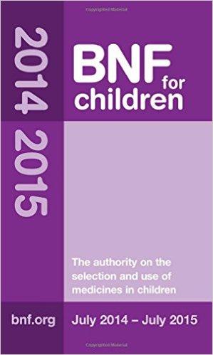 BNF for Children 2014 – 2015 (British National Formulary for Children) 1st Edition