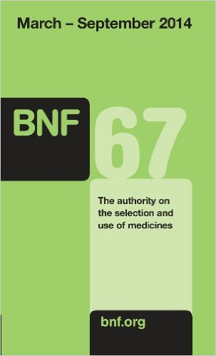 British National Formulary 67, March 2014-Sepember 2014 67th Edition