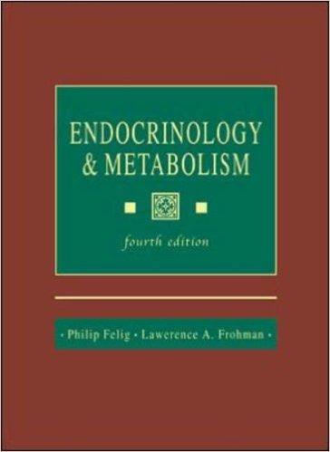Endocrinology Metabolism International student ed of 4th revised ed Edition