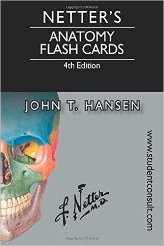 Netter's Anatomy Flash Cards: with Online Student Consult Access, 4e (Netter Basic Science) 4th Edition
