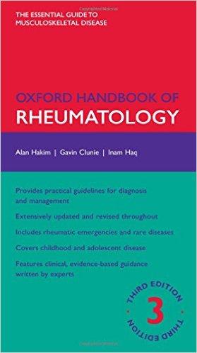 Oxford Handbook of Rheumatology (Oxford Medical Handbooks) 3rd Edition