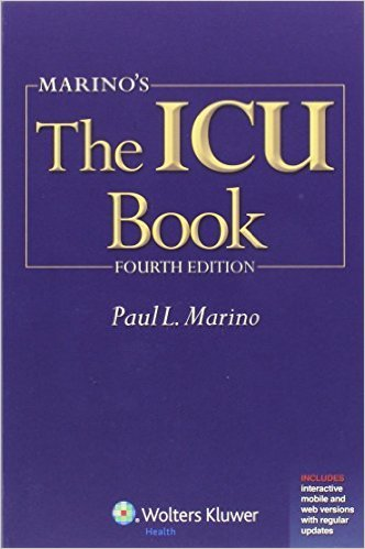 Marino's the ICU Book: Print + eBook with Updates (ICU Book (Marino)) by Marino