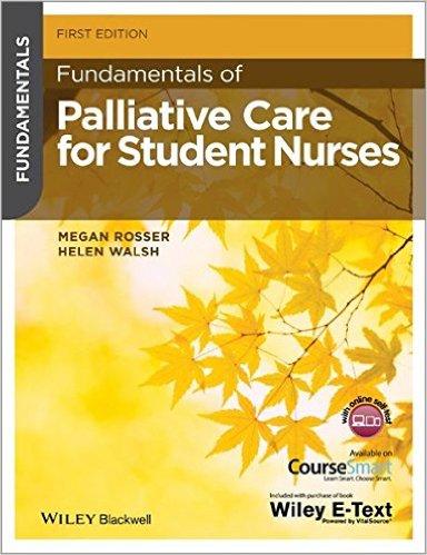 Fundamentals of Palliative Care for Student Nurses 1st Edition
