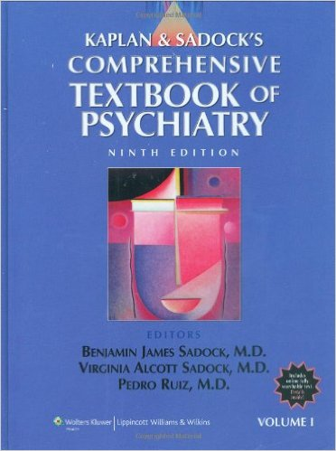 Kaplan and Sadock's Comprehensive Textbook of Psychiatry (2 Volume Set) 9th Edition