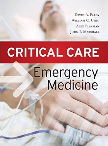Critical Care Emergency Medicine 1st Edition