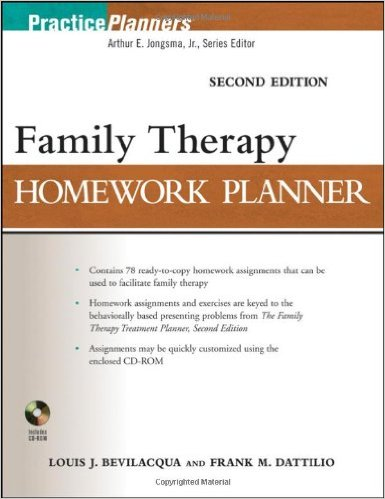 Family Therapy Homework Planner, Second Edition 2nd Edition