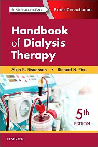 Handbook of Dialysis Therapy, 5e 5th Edition