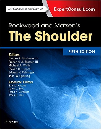 Rockwood and Matsen's The Shoulder, 5e 5th Edition