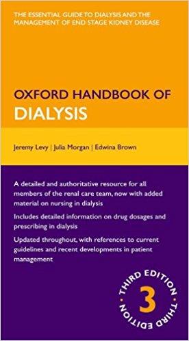 Oxford Handbook of Dialysis (Oxford Medical Handbooks) 3rd Edition