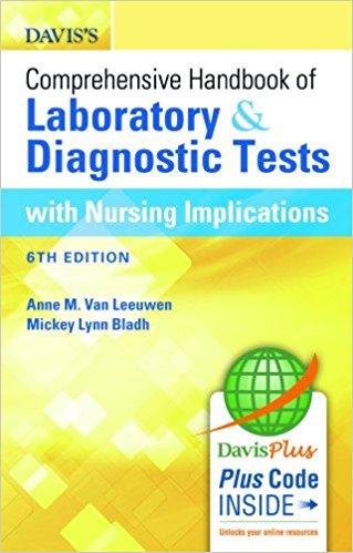 Davis's Comprehensive Handbook of Laboratory and Diagnostic Tests With Nursing Implications