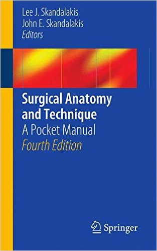 Surgical Anatomy and Technique: A Pocket Manual 4th ed