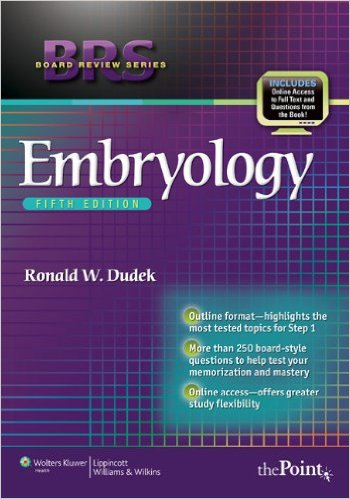 BRS Embryology (Board Review Series) Fifth Edition