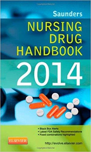 Saunders Nursing Drug Handbook 2014, 1e 1st Edition
