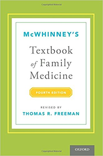 McWhinney's Textbook of Family Medicine 4th Edition
