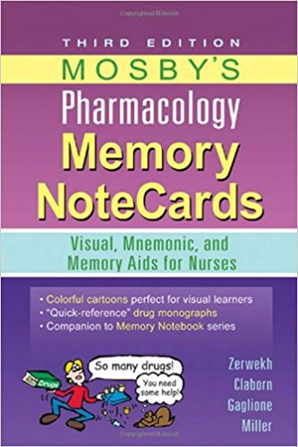 mosby pharmacology memory notecards pdf free download