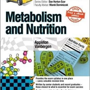 Crash Course: Metabolism and Nutrition: Updated Print + eBook edition, 4e 4th Edition