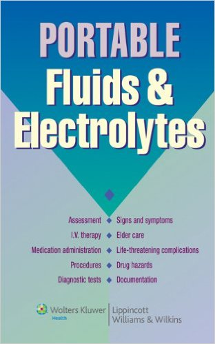 Portable Fluids and Electrolytes (Portable Series) 1st Edition