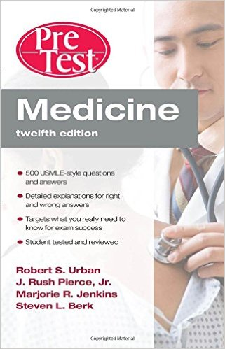 Medicine PreTest Self-Assessment & Review, Twelfth Edition