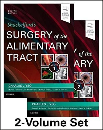 Shackelford's Surgery of the Alimentary Tract, 2 Volume Set, 8e 8th Edition