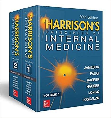 Free Download Medical: Harrison's Principles of Internal Medicine 19th Edition PDF