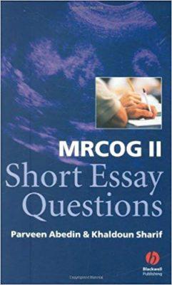Short essay questions